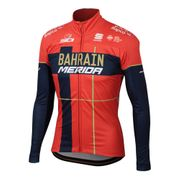 Veste Bahrain Merida 2019 Partial Protection rouge bleu