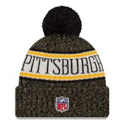 Bonnet avec pompon Pittsburgh Steelers NFL sport knit doublé polaire