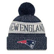 Bonnet avec pompon New England Patriots NFL sport knit doublé polaire