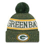 Bonnet avec pompon Green Bay Packers NFL sport knit doublé polaire