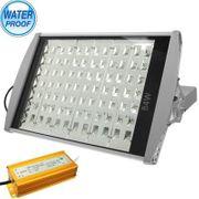Lampe HD84 W de Puissance Élevée de la Rue de la Lampe à Lumière, Imperméable Blanc 84 Lumière de LED avec le support, AC 85-250