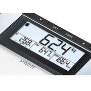 Sanitas Pèse-personne impédancemètre SBG 21 180 kg Verre Noir et blanc