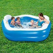 Bestway 54153 Piscine pour enfants Bleu 213 x 207 69 cm