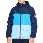 Ellesse Heritage Trio Full Zip Hooded Mens Fashion Jacket Coat Blue