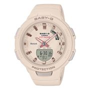 Montre Casio Baby-G Bluetooth + Step Tracker rose clair