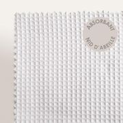Drap de bain 90x160 cm nid d'abeille PURE WAFFLE 300 g/m² blanc