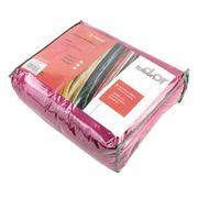 Couverture polaire 240x260 cm Microfibre 100% Polyester 320 g/m2 VELVET Rouge Framboise