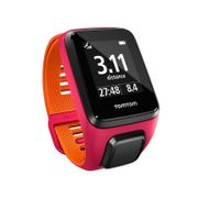 GPS TOMTOM RUNNER 3 CARDIO MUSIC fushia / orange small