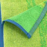 Drap de plage 100x180 cm PEWEES dégradé de bleu et vert