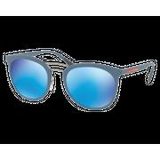 Prada SPS04S Gomme Bleu Vert Miroité Bleu