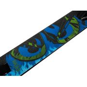 Trottinette freestyle Helios noir vert