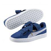 Chaussures Puma Basket Heart Denim Halogen Blue Do You