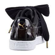 Chaussures Puma Basket Patent Heart Classic Noir Do You