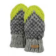 BARTS-Moufles jacquard beige vert bébé garçon 1/2 ans Barts