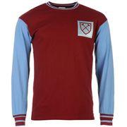 Score Draw West Ham 1966 Domicile Long Sleeve Maillot