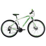 VTT semi-rigide 29'' Compound blanc-vert TC 51 cm KS Cycling