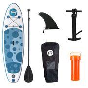 Pack Stand Up Paddle gonflable ROHE BUBBLES 8'7'' x 30 '' x 4 '' ( 262 x 76 x 10 cm) - avec accessoires