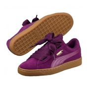 Chaussures Puma Suede Heart SNK Purple