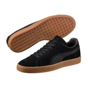 Chaussures Puma Suede Classic Natural Warmth Noir