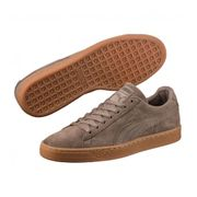 Chaussures Puma Suede Classic Natural Warmth Falcon Gris Charbon