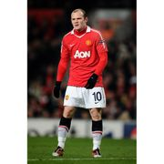 Maillot domicile Manchester United 2010/2011 Rooney