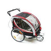 Assise tissu pour remorque vélo enfants