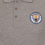 Manchester City FC officiel - Polo thème football - avec blason - garçon