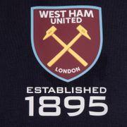 West Ham United FC officiel - Pull zippé à capuche thème football - polaire - homme