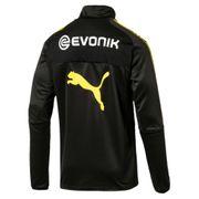 2017-2018 Borussia Dortmund Puma Half Zip Training Top (noir)