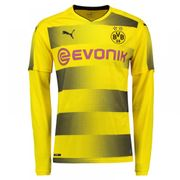 2017-2018 Borussia Dortmund Domicile Long Sleeve Puma Maillot