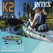 Intex Kayak gonflable Challenger K2 351 x 76 x 38 cm 68306NP