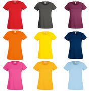 Fruit Of The Loom - T-shirt à manches courtes - Femme