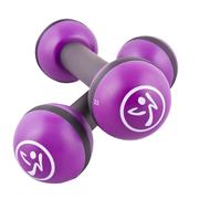 Zumba Haltères tonifiantes 2 pièces 1 kg Violet ZUM011
