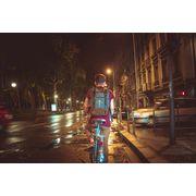 Sac à dos vélo étanche à LED avec clignotants 20 L MoonRide