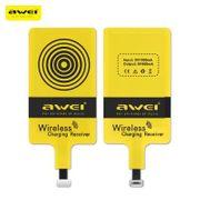 Chargeur QI sans fil-Récepteur de charge sans fil Awei Qi pour iPhone 7 Plus / 7