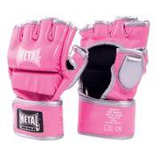 Gants Combat Libre Blanc ou Rose METAL BOXE