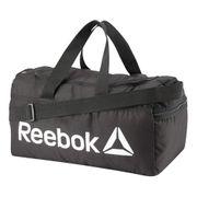 Sac de sport Reebok Active Core S Grip gris foncé blanc rouge