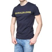 Tee Shirt Calvin Klein J30j307856 Institutional  904 Night / Lemon