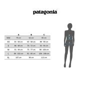 T-shirt Patagonia Pastel P-6 Logo Organic Crew manche courte bleu clair femme