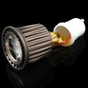 Lampe pour croissance plante-GU10 7W Spotlight Ampoule de Lampe, 1 ÉPI LED, Lumière Blanche, AC 85-265V