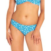 Bas de maillot de bain Culotte Curvy Kate Riptide Mini Brief Bleu