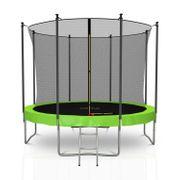 Trampoline extérieur 10FT 305cm Classique Jump4Fun Vert Pomme