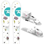 ROSSIGNOL Diva Kid-X Ski + Kid-X 4 B76 Fixations Fille