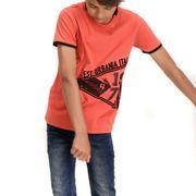 Tee-shirt Garçon Rouge Garcia