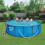 Bestway Ensemble de piscine Steel Pro MAX Rond 457x122 cm 56438