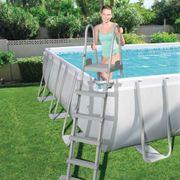 Bestway Échelles de piscine à 4 marches 2 pcs Flowclear 132 cm 58332