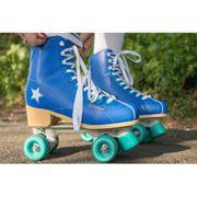 Hudora Roller Disco Skates - Bleu/Vert - taille 40