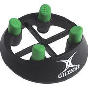 TEE DE RUGBY  Tee Pro 320 - Homme - Noir et vert