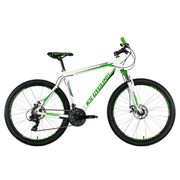 VTT semi-rigide 27,5'' Compound blanc-vert TC 51 cm KS Cycling