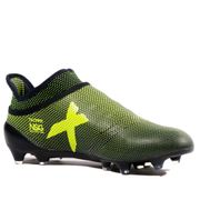 X 17+ Purespeed FG Homme Chaussures Football Noir Jaune Adidas